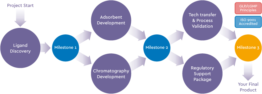 Bioseparations - Custom Development Programs